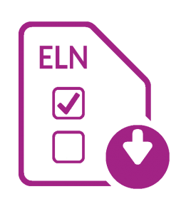 ELN chart transparent purple